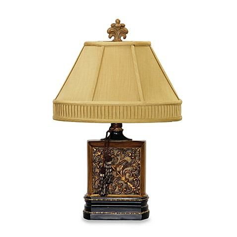 Sterling Industries Carved Block Table Lamp