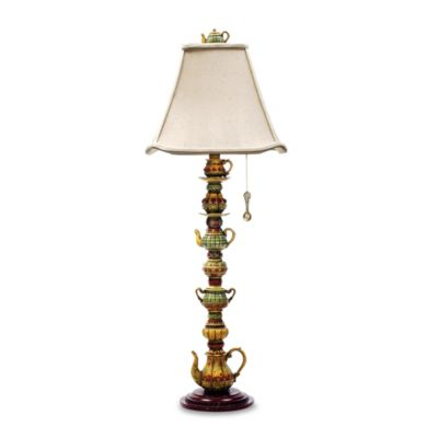 Dimond Lighting Tea Service Candlestick Table Lamp