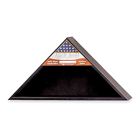 Black Unit Size Flag Case