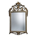 Stewart Mirror in Antique Silver Finish