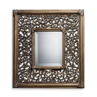 Coll in gswood Mirror in Ravenhill Gold Finish