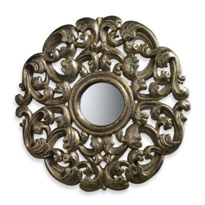 Lanne Mirror in Blackwood Silver Finish
