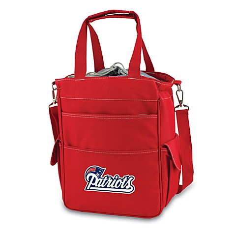 Activo New England Patriots Insulated Cooler in Red