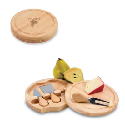 Picnic Time® Atlanta Falcons Brie Cheese Board Set