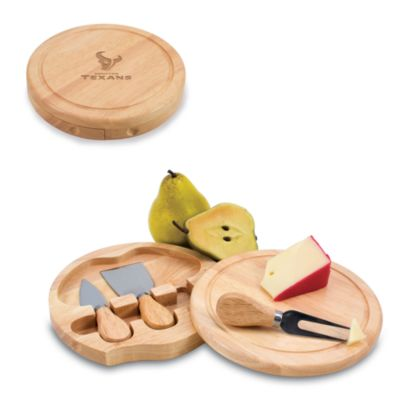 Picnic Time® Houston Texans Brie Cheese Board Set