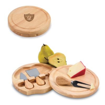 Picnic Time® Oakland Raiders Brie Cheese Board Set