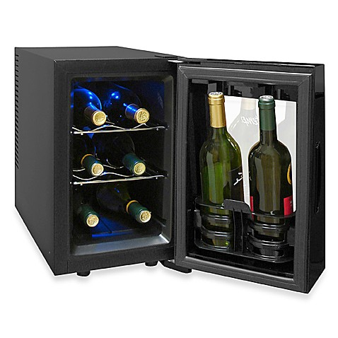 Vinotemp® 8-Bottle Thermoelectric Wine Cooler Model # VT-8TEDTS-ID