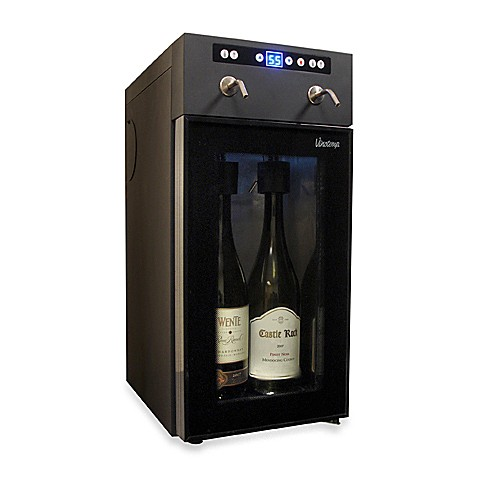 Vinotemp 2-Bottle Wine Preservation and Dispensing System