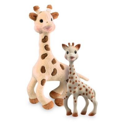 Vulli® Sophie the Giraffe Toy and Plush Set