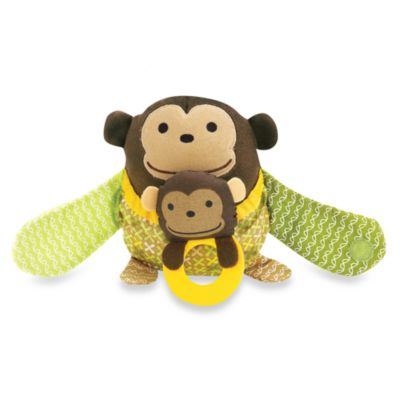SKIP*HOP® Hug & Hide™ Monkey Stroller Toy