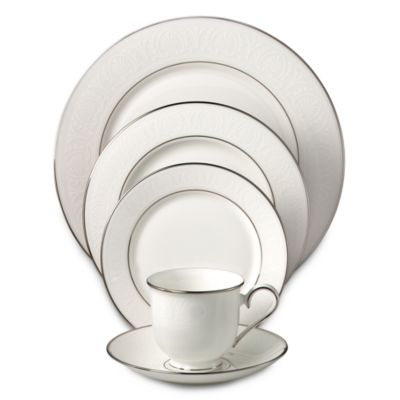 Lenox® Hannah Platinum® 5-Piece Place Setting