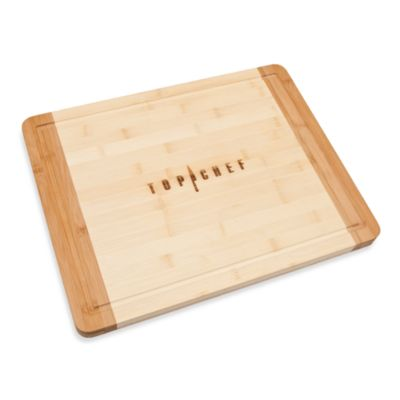 Top Chef Bamboo Cutting Board