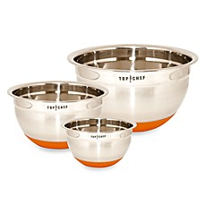 Top Chef Stainless Steel Mixing Bowl with Silicone Base