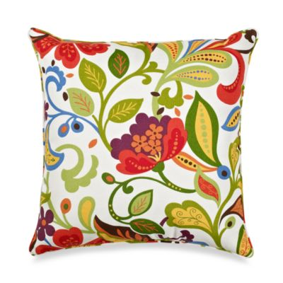 17-Inch Square Toss Pillow in Wildwood