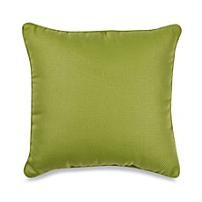 Outdoor 17-Inch Welt Cord Pillow in Kiwi