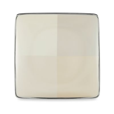 Lenox® Ivory Frost™ Square Accent Plate
