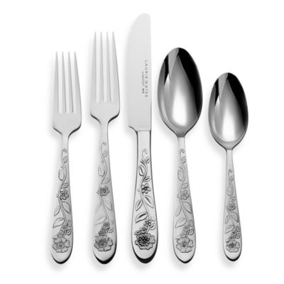Hampton Forge Hailey 20-Piece Flatware Set