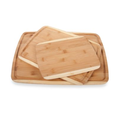 Core Bamboo™ 3-Piece Cutting Board Set
