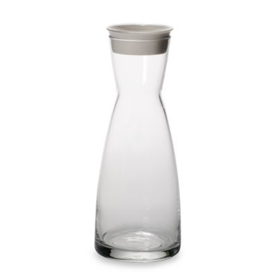 Bormioli Rocco Ypsilon Glass Carafe with White Lid