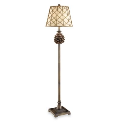 Crestview Collection Pine Bluff 1-Light Floor Lamp