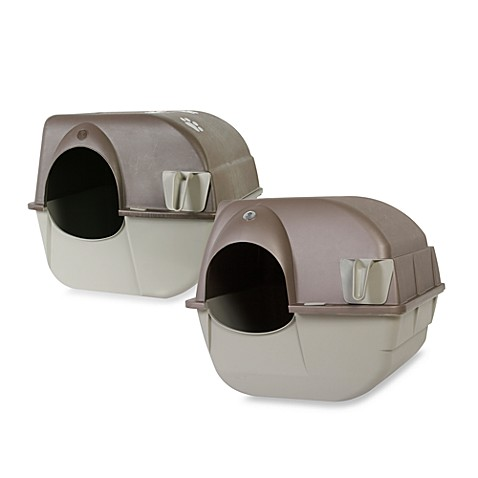 Omega Paw Roll' N Clean™ Litter Box
