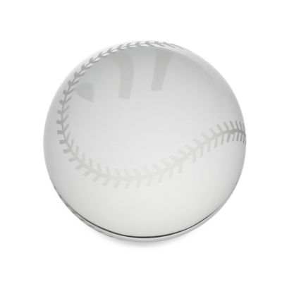 Oleg Cassini Baseball Paperweight