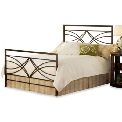 Hillsdale Dutton King Bed Set with Rails