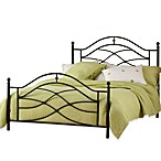 Tipton Twin Bed Set with Rails