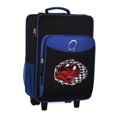 O3 Kids Luggage with Integrated Cooler in Racecar