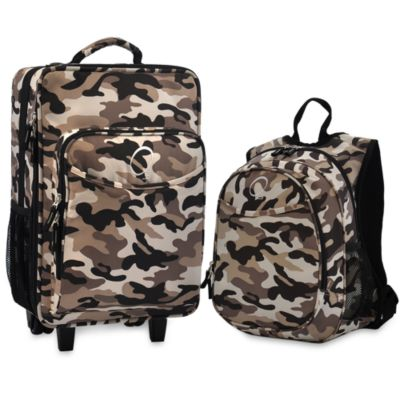 O3 Kid's Backpack and Luggage Set - Camouflage
