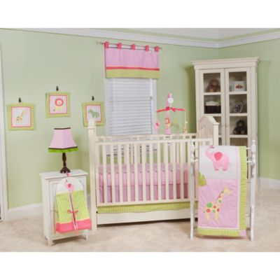 Jungle Jill 10-Piece Crib Bedding Set by Pam Grace Creations