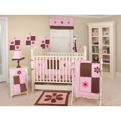 Pam's Petals 10-Piece Crib Bedding Set by Pam Grace Creations