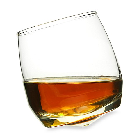Sagaform®  Rocking 7-Ounce Whiskey Glassware (Set of 6)
