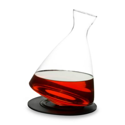 Sagaform® Rocking Decanter With Tray