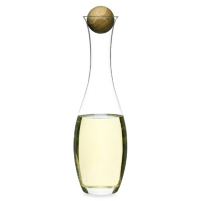 Sagaform® Wine/Water Carafe with Oak Stopper