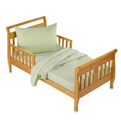 TL Care Percale 4-Piece Toddler Bedding Set in Celery