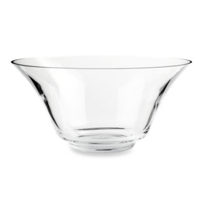 Gourmet Settings Windermere Glass Salad Serving Bowl