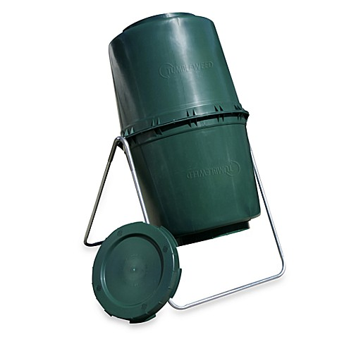Sun Joe Tumbleweed 58-Gallon Compost Tumbler in Green