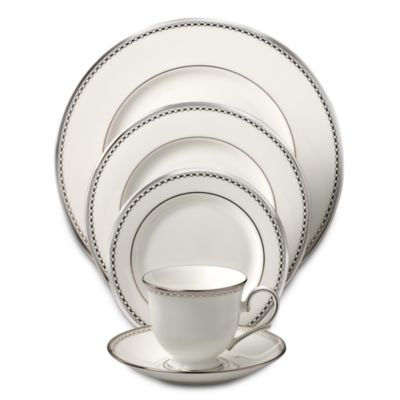Lenox® Pearl Platinum™ 5-Piece Place Setting