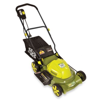 Sun Joe 3-in-1 20-Inch Electric Lawn Mower with Side Discharge