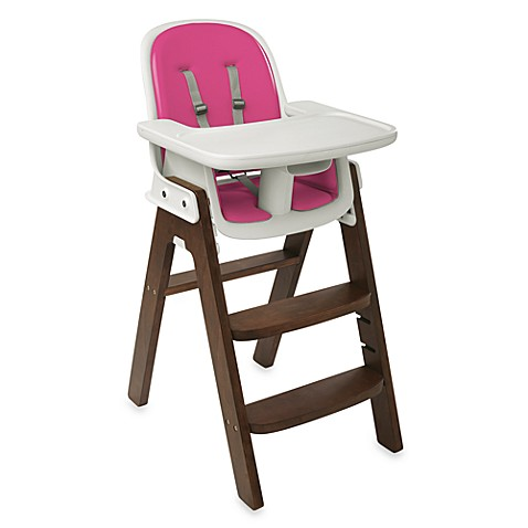 OXO Tot® Sprout™ High Chair in Pink/Walnut