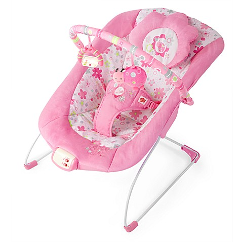 Bright Starts™ Pretty in Pink Bouncer in Blossomy Blooms