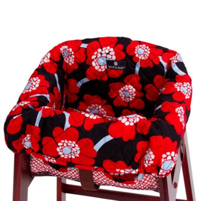 Balboa Baby® High Chair Cover in Red Poppy