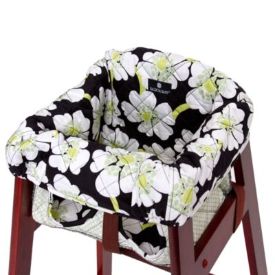 Balboa Baby® High Chair Cover in Lime Poppy