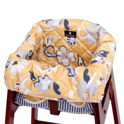 Balboa Baby® High Chair Cover in Yellow Floral