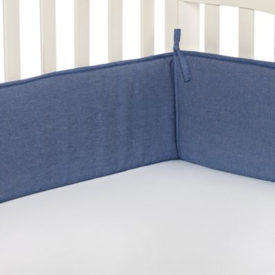 TL Care® Crib Bumper in Chambray