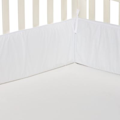 TL Care® Crib Bumper in White