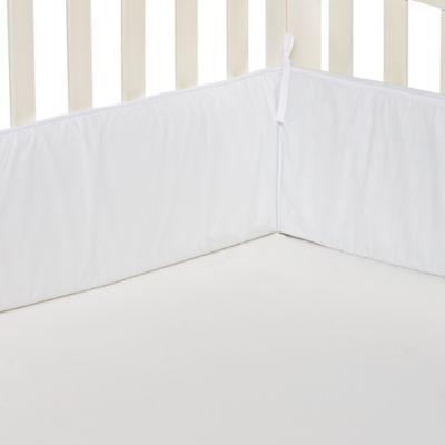 TL Care® Crib Bumper in White