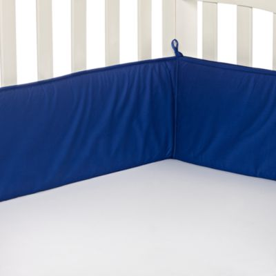 TL Care® Crib Bumper in Royal Blue