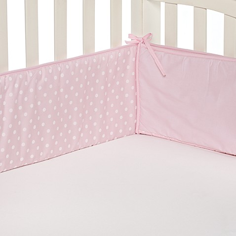 Tl Care 174 Pink Polka Dot Crib Bumpers From Buy Buy Baby